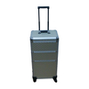 Aluminum makeup trolley hair beauty carrying cases