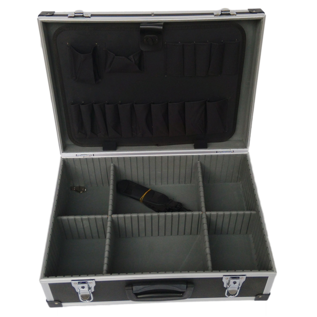Portable multi-purpose custom aluminum flight case