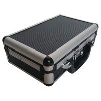 Hot sale portable aluminum tool case with foam inside