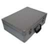 Diamond pattern aluminum tool case with factory price