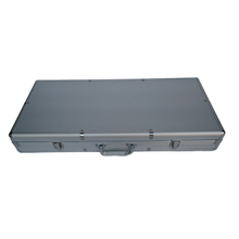 Aluminum hard protective case for instrument package