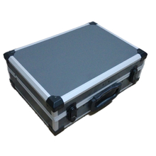 style fashion aluminum tool case with moulded eva For tools